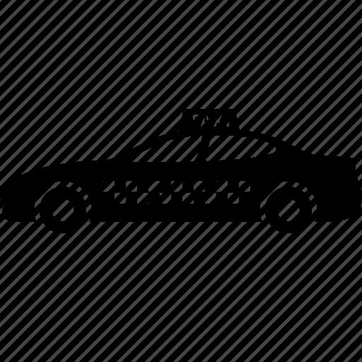 cab, car, public, taxi, taxicab, transportation, vehicle icon
