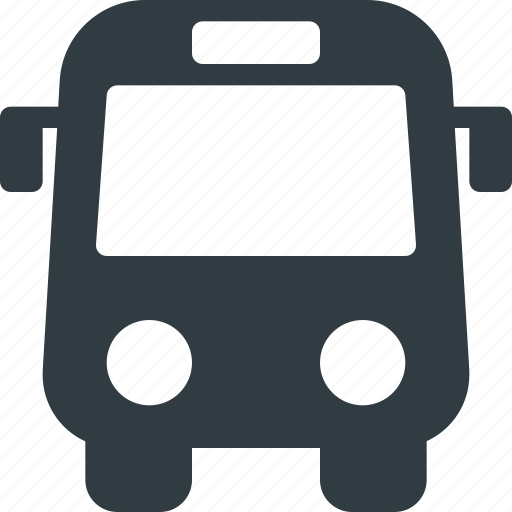 bus, station, transport, transportation, vehicles icon