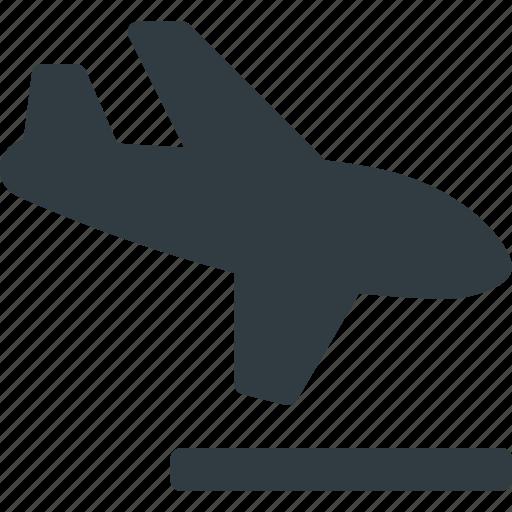 flight, fly, landing, plane, transport, transportation, vehicles icon