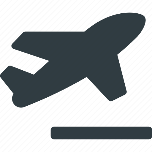 flight, fly, lift, off, plane, transportation, vehicles icon