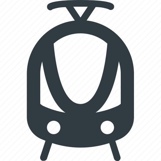 railroad, railway, train, transport, transportation, vehicles icon