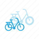 bicycle, bike, transport, transportation, vehicles icon