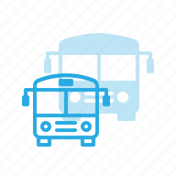 bus, school, transport, transportation, vehicles icon