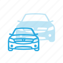 car, dacia, logan, transport, transportation, vehicles icon
