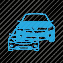 car, dacia, logan, transport, transportation, vehicles icon