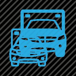 ambulance, emergency, transport, transportation, vehicles icon