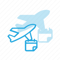 flight, plane, reservation, transport, transportation, vehicles icon
