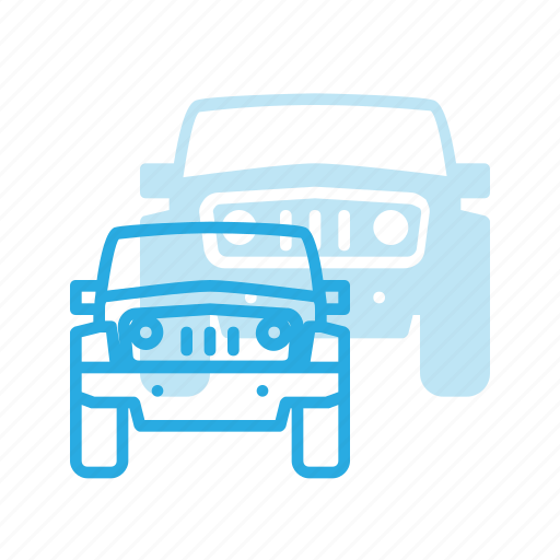 jeep, transport, transportation, vehicles icon