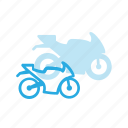 bike, motocycle, motor, transport, transportation, vehicles icon