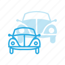 beatle, retro, transport, transportation, vehicles icon