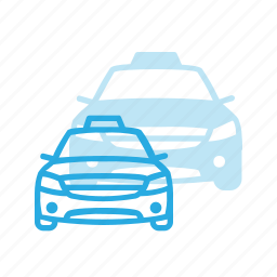 cab, car, taxi, transport, transportation, vehicles icon