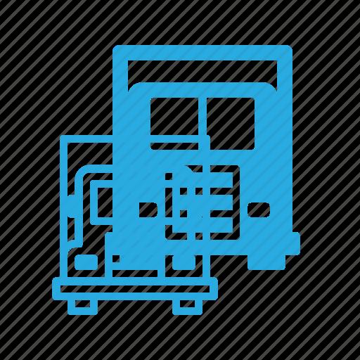 tir, transport, transportation, truck, vehicles icon