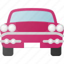 cadilac, luxery, retro, transport, transportation, vehicles icon
