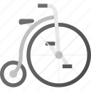bicycle, bike, retro, transport, transportation, vehicles, vintage icon