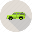 car, transportation, van, vehicle icon