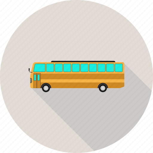 bus, school, school bus, vehicle icon