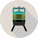 solid, train, transport, transportation icon