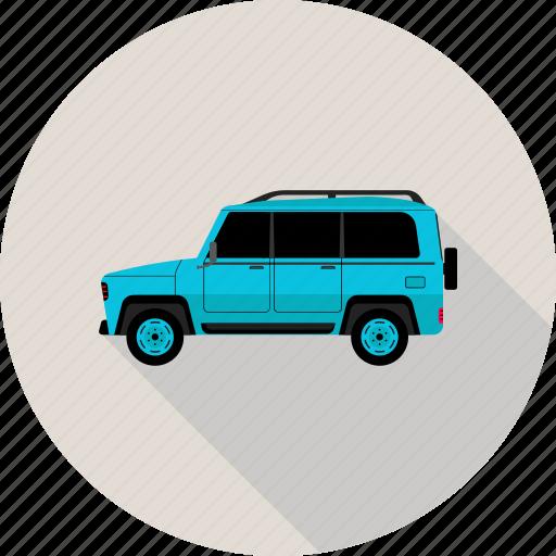 car, jeep icon