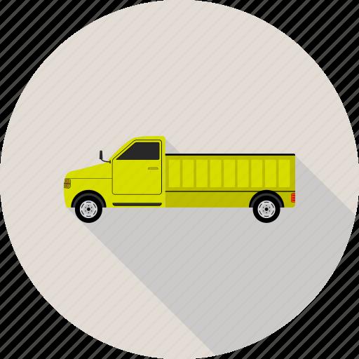 big vehicle, truck, vehicle icon