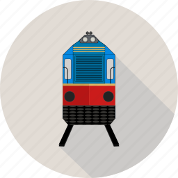 solid, train, transport icon