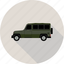 car, crossover, jeep icon