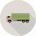 big vehicle, truck, vehicle icon