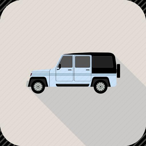 car, crossover, jeep icon