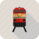 railroad, train icon