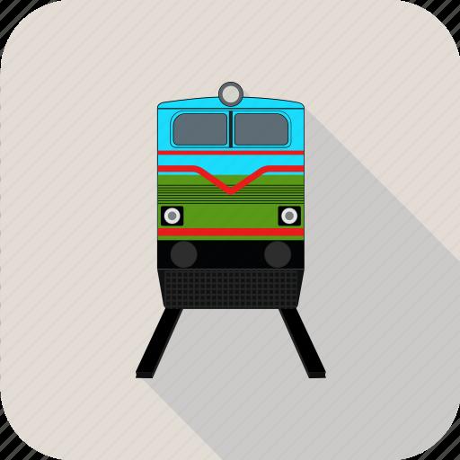 railroad, train icon
