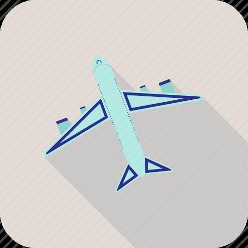 plane, takeoff icon