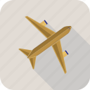 airliner, plane icon