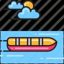 canoe, paddling icon