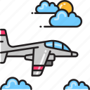 aircraft, bomber, fighter jet, jet, plane icon