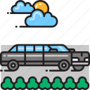 limo, limousine icon