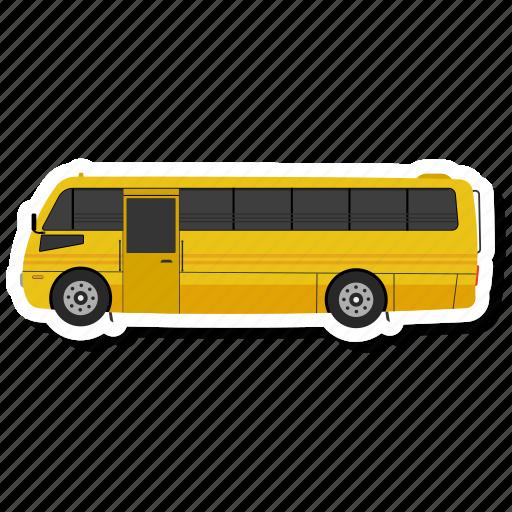autobus, bus, moscow, transport icon