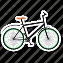 bicycle, tour, bike, cycling icon