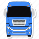 bus, transport, vehicle icon