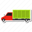 delivery, transport, truck
