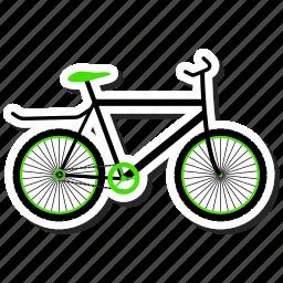 bicycle, bike, cycle, cycling icon