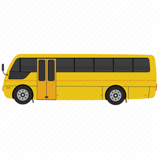 bus, school, school bus, transportation, vehicle icon