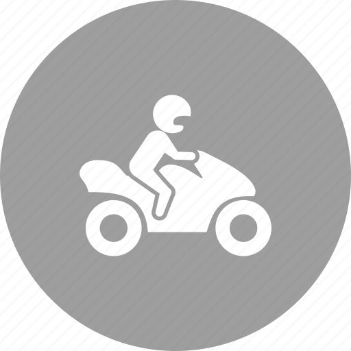 bike, biker, motor, motorcycle, motorcyclist, rider, vehicle icon