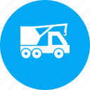 caterpillar, crane, dozer, loader, lorry, tractor, truck icon