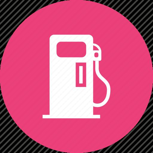 fuel, fueling station, gasoline, petrol, pump, refill, transport icon