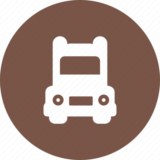 Courier, delivery, load, lorry, trailer, truck, van icon - Download on Iconfinder