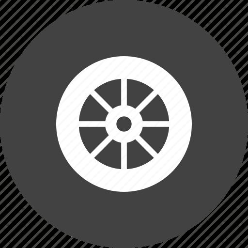 automobile, car, cycle, rim, tyre, vehicle, wheel icon