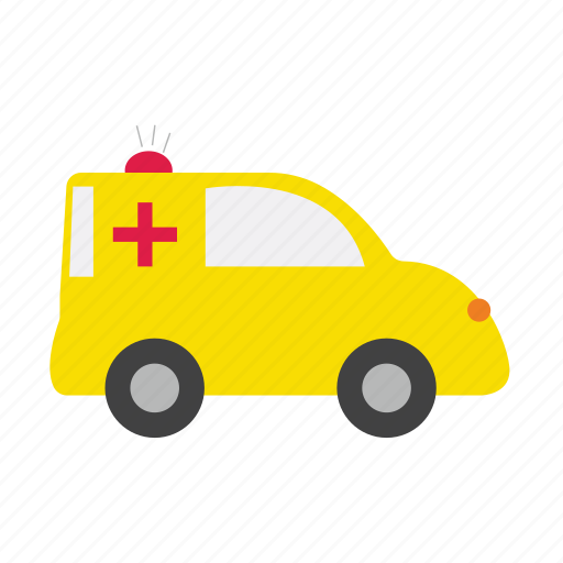 ambulance, automobile, bus, car, hospital, transports, truck icon