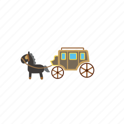 bike, bus, car, catage, horse, transport, truck icon