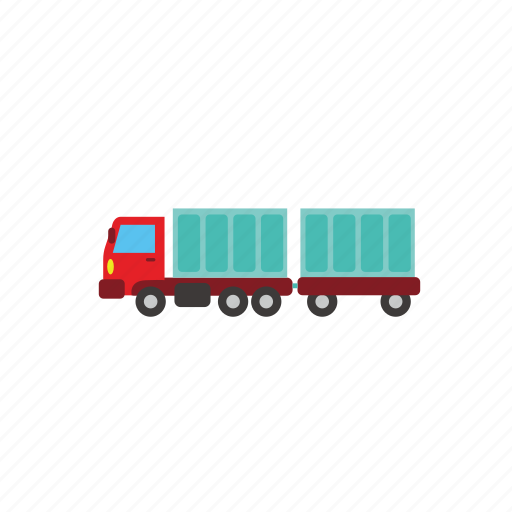 bus, car, cargo, loading, transport, truck, vehucle icon