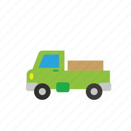 bus, car, cartage, delivery, transport, truck, vehicle icon