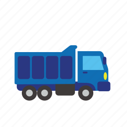 bus, car, cargo, loading, transport, truck, vehicle icon